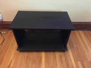 side hustle tv stand