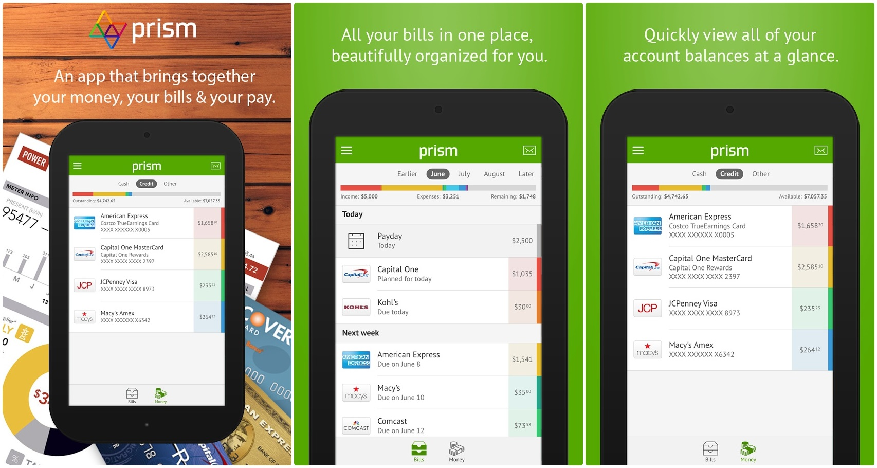 Prism App Review – An Awesome Free Bill Management App