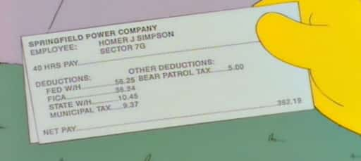 Don't be like Homer. Save something at least!