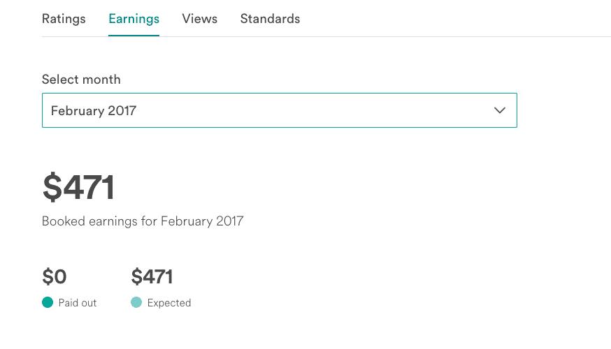 February 2017 Side Hustle Report