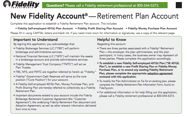 Fidelity Solo 401k: A Step By Step Guide To Setting Up Your
