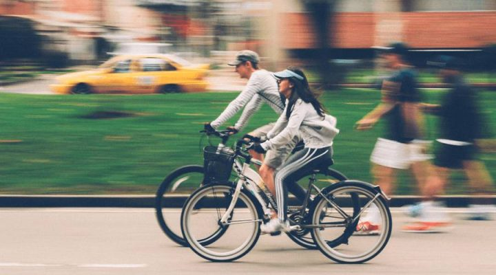 yes you can bike to work