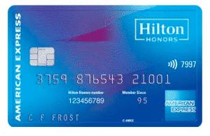 amex hilton business card