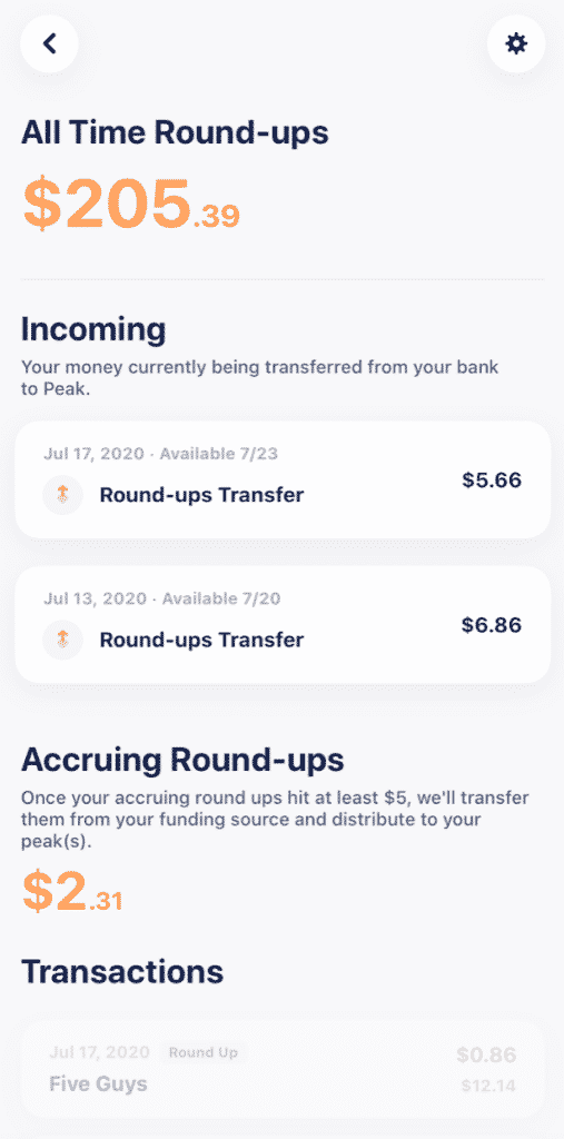 peak money app review
