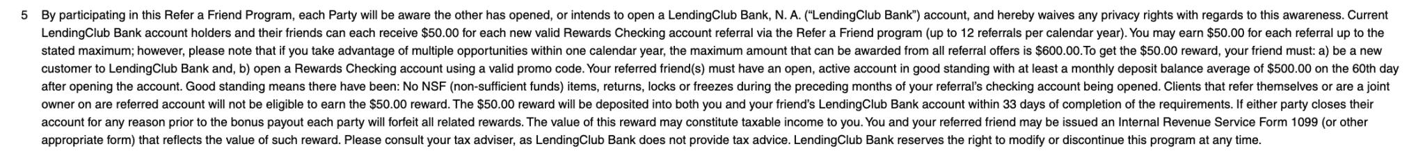 radius bank referral terms