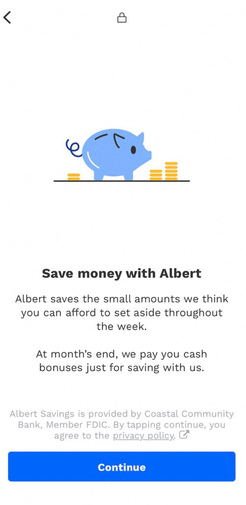 albert smart savings