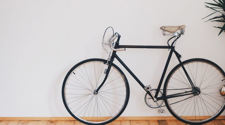 the privilege of biking to work
