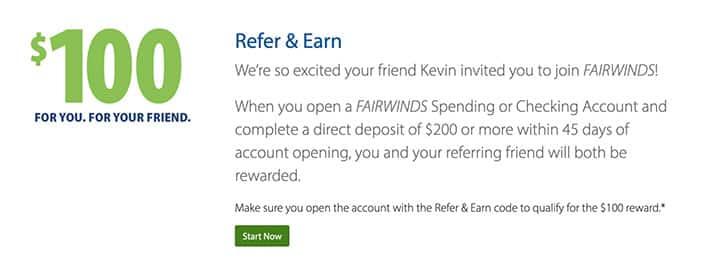 fairwinds credit union referral bonus