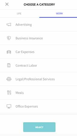 Lili expense categories