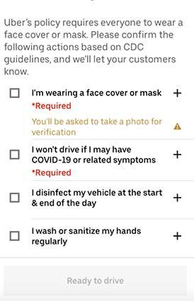 Uber Eats start requirements